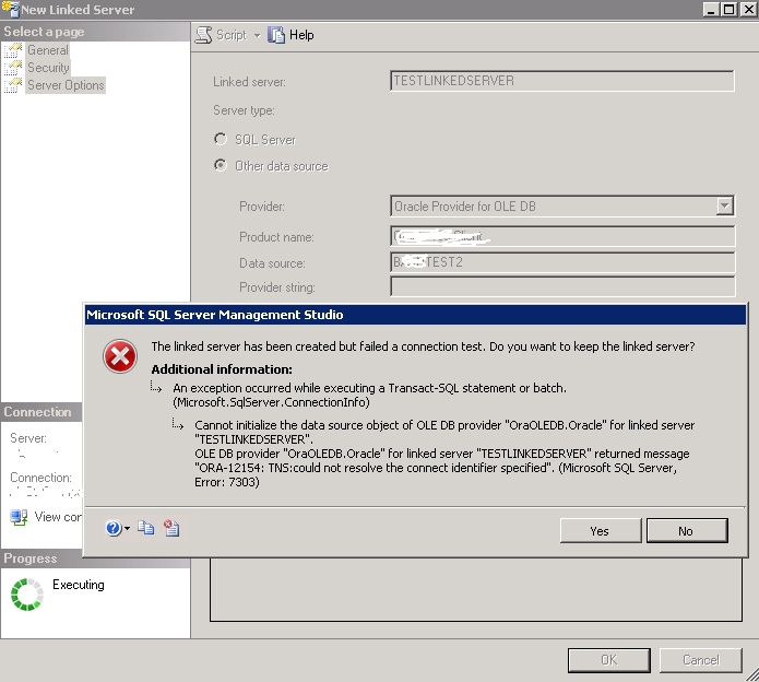 Installing 64-bit Oracle ODAC 11 2 to Microsoft SQL Server 2008 R2
